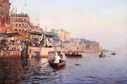 Morning on the Ganges